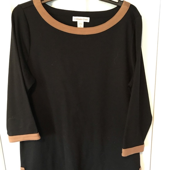 Coldwater Creek Tops - Coldwater Creek black cotton spandex tunic